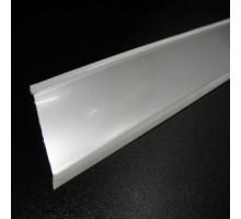 Кухонний плінтус для стільниці алюміній 45