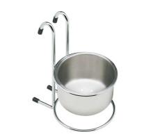 Чаша для кухонних аксесуарів GIFF хром