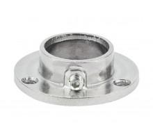 R-11/M Кріплення труби d=25 (алюміній) GIFF фланець хром