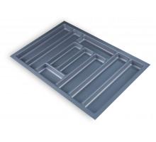 Лоток для столових приладів Standard 730х480 сірий