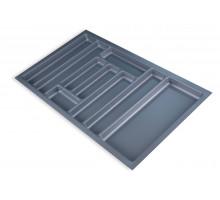 Лоток для столових приладів Standard 830х480 сірий
