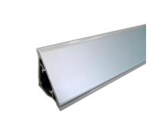 Кухонний плінтус трикутний алюміній Н = 30 мм Linken System