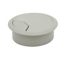 Заглушка кабельна пластикова GIFF сірий